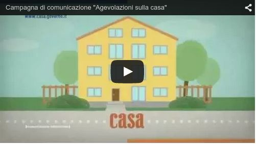 Video agevolazioni sulla casa