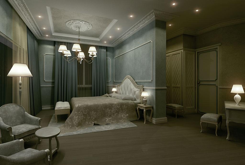 Rendering 3d immobiliare - Bajour per camera da letto ...