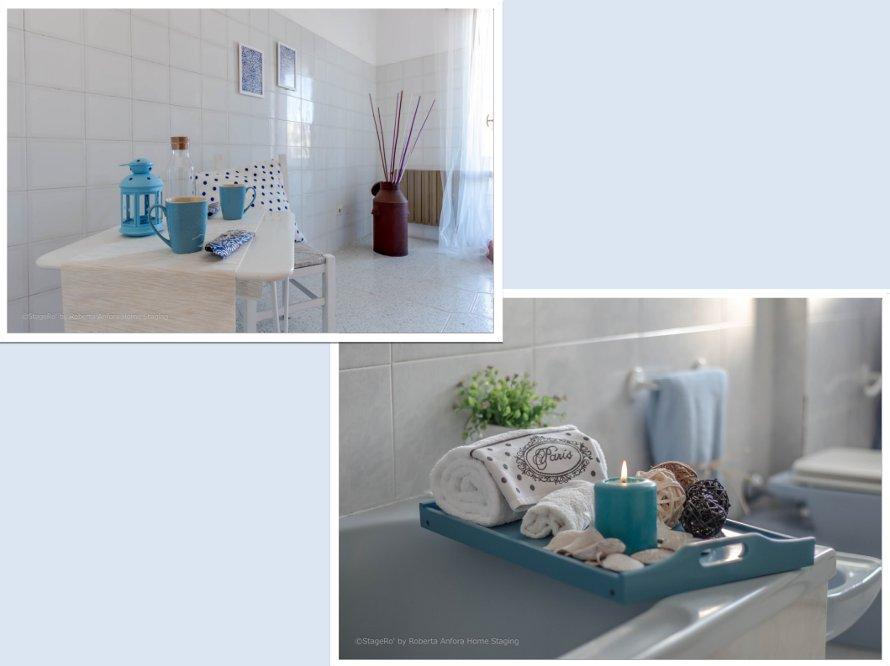 Home staging angolo bagno prima e dopo