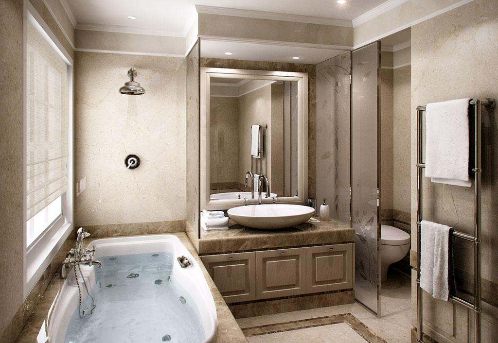 Rendering 3d immobiliare for Arredo bagno 3d
