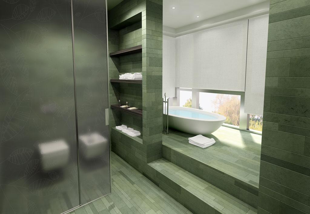 Rendering 3d immobiliare - Planner bagno 3d ...