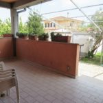 patio retro villa unifamiliare ostia antica via giulio cesare teloni