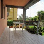 patio fronte villa unifamiliare ostia antica via giulio cesare teloni